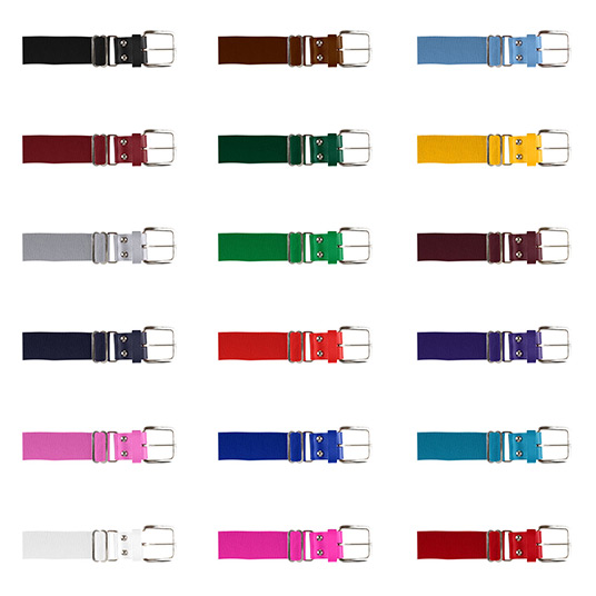 Baseball-belt-colours